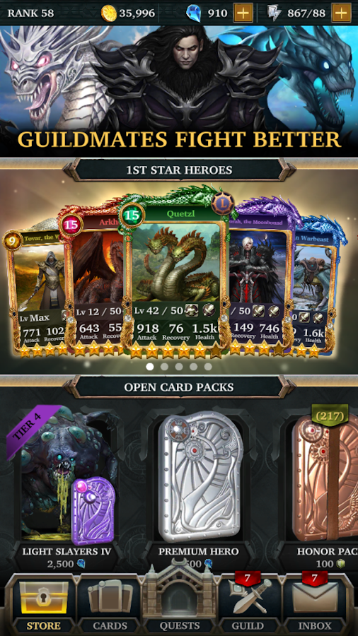 Legendary: Game of Heroes Screenshot 5