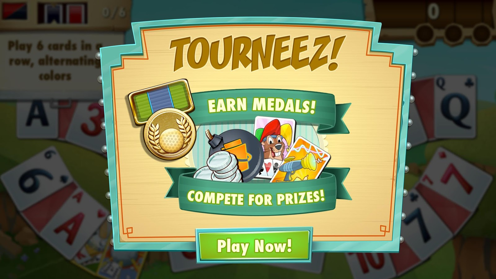 Fairway Solitaire Blast Screenshot 3