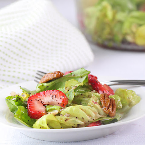 Butter Lettuce & Strawberry Salad