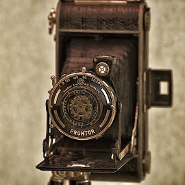 Cheese ! by Marco Bertamé - Artistic Objects Other Objects ( old, vintage, camera, tripod, portrait )