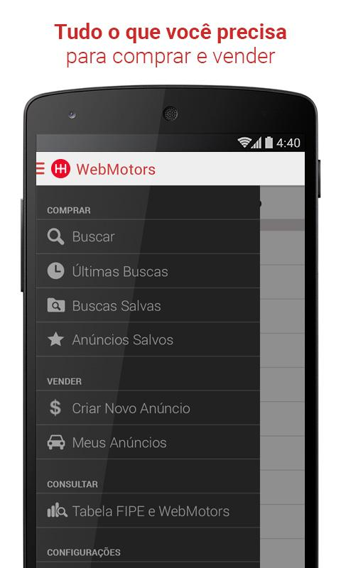 Webmotors - Comprar e Vender Screenshot 4