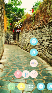 Stone path theme - screenshot