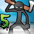 Anger of Stick 5 APK for Bluestacks