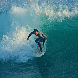 Catching the Wave by Jeannine Jones - Sports & Fitness Surfing