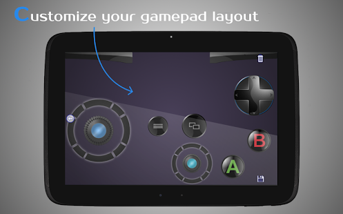 DroidJoy Gamepad Screenshot