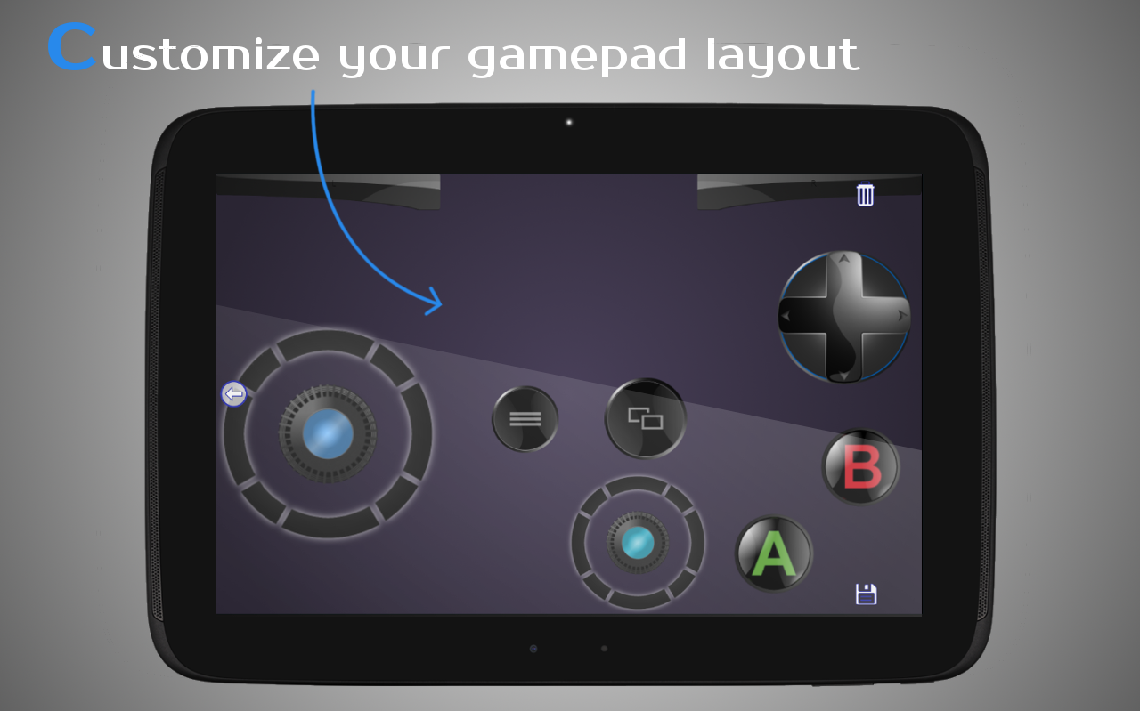 DroidJoy Gamepad Joystick Screenshot 9