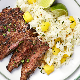 Chili Steak with Hawaiian Rice