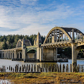 The Bridge by Jerry Cahill - Buildings & Architecture Bridges & Suspended Structures