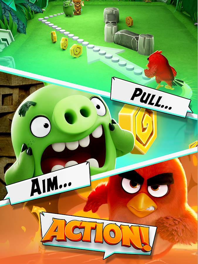 Angry Birds Action! Screenshot 10