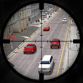 City Traffic Sniper Shooter 3D