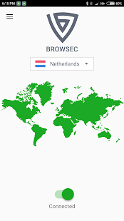 Browsec VPN - Free and Unlimited VPN Screenshot