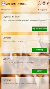Angeethi Restaurant - screenshot