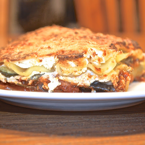 Sicilian Inspired Anchovy and Aubergine Lasagne