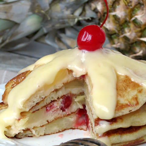 Upside Down Pineapple Pancakes