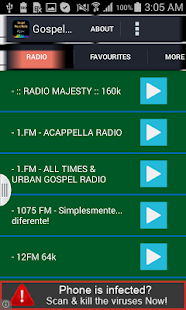 Gospel Music Radio - screenshot