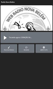 Radio Nova Belém - screenshot
