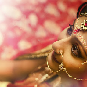 Dreams in the Eyes by Fotosutra - a PRASANTA SINGHA photography - Wedding Bride