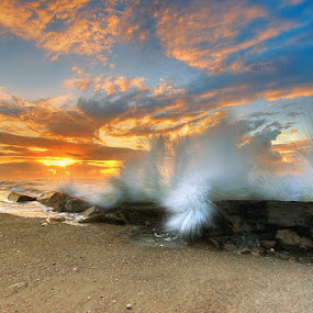 morning at manyar beach - bali by Tut Bolank - Landscapes Waterscapes ( bali manyar beach )