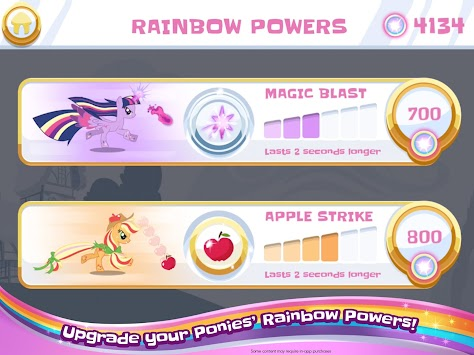 My Little Pony Rainbow Runners apk screenshot