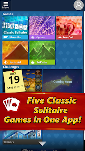 Game Microsoft Solitaire Collection APK for smart watch