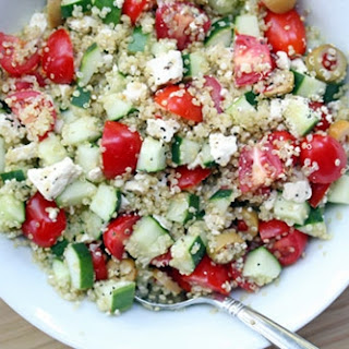 Greek Chilled Quinoa Salad