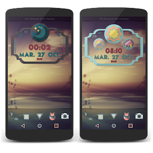 Retro Meteo Widgets by LP- screenshot thumbnail
