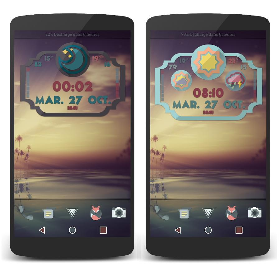 Retro Meteo Widgets by LP Screenshot 7