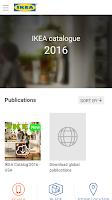 Screenshot of IKEA Catalog