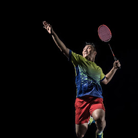 by Steve NG - Sports & Fitness Other Sports ( jumping, badminton, smash )