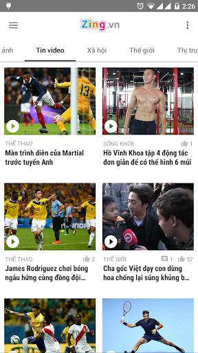 Zing.vn - Vietnam Daily News screenshot 6