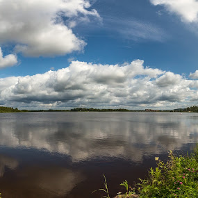 Clouds  by Benny Høynes - Landscapes Cloud Formations ( clouds, water, sweden, sky, summer )