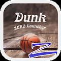 Free Download Dunk Theme - ZERO launcher APK for Blackberry