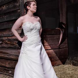 by Andrea Ayotte - Wedding Bride ( wedding photography, weddings, wedding, bride, stunning )