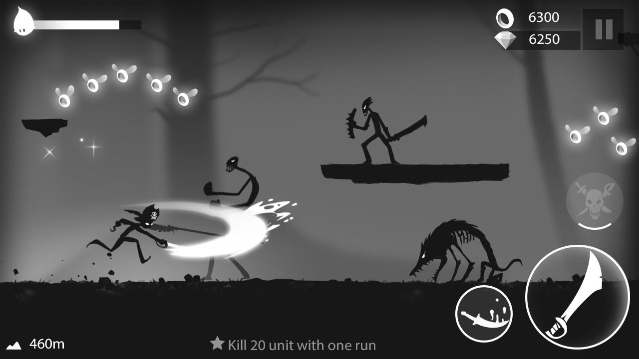 Stickman Run: Shadow Adventure Screenshot 5