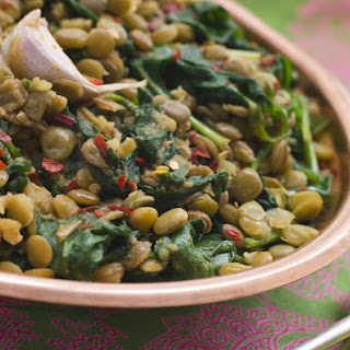 Spiced Spinach Dal with Coconut Milk