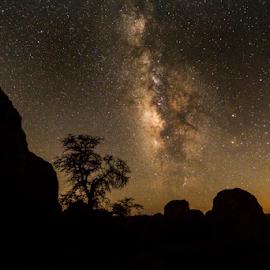City of Rocks by Jon Foley - Landscapes Starscapes