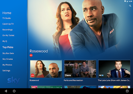 Sky Q - screenshot