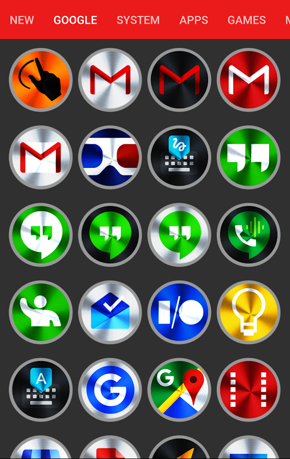 Vivid v2 Icon Pack Screenshot 5