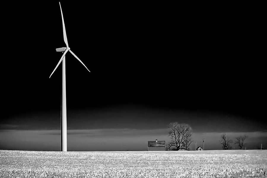 New & Old by Dave . - Landscapes Prairies, Meadows & Fields