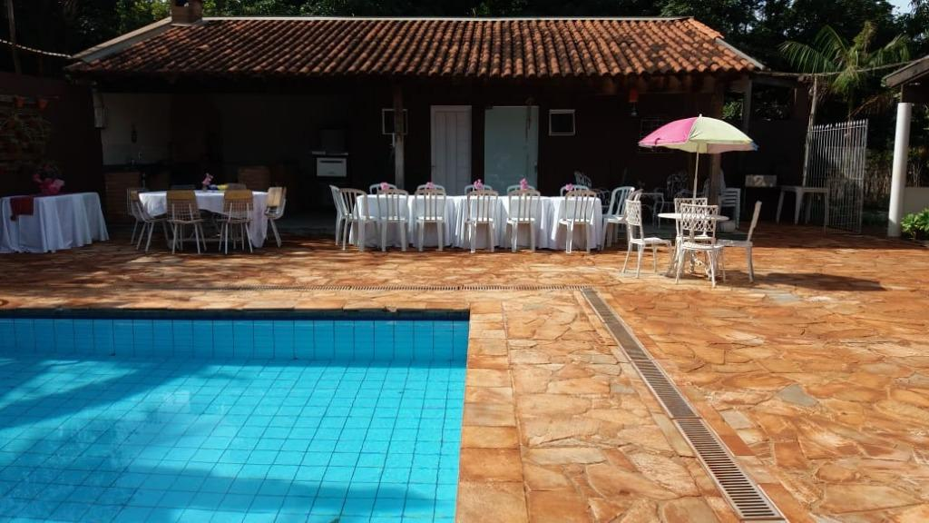 Chácara com 3 dormitórios à venda, 5000 m² por R$ 550.000 - Distrito Industrial I - Uberaba/MG