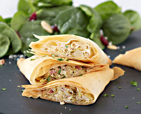 Brussels Sprout & Goat Cheese Turnovers Recipe | Yummly