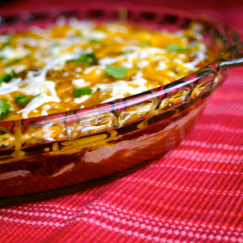 Warm Layered Mexican Dip