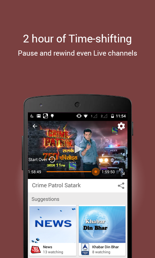 YuppTV - LiveTV Movies Shows Screenshot 3