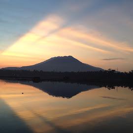 Sunrise by Maria Lourdes Josefina Piamonte - Landscapes Sunsets & Sunrises