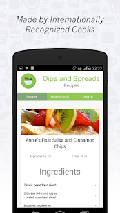 Dips and Spreads Recipes - screenshot