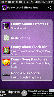 Funny Sound Effects Free - screenshot