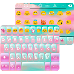 Pink Cloud Emoji Keyboard Skin 1.1.4 Apk