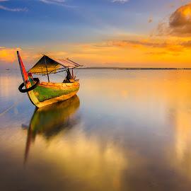 Boat by Faiz Putra - Landscapes Sunsets & Sunrises