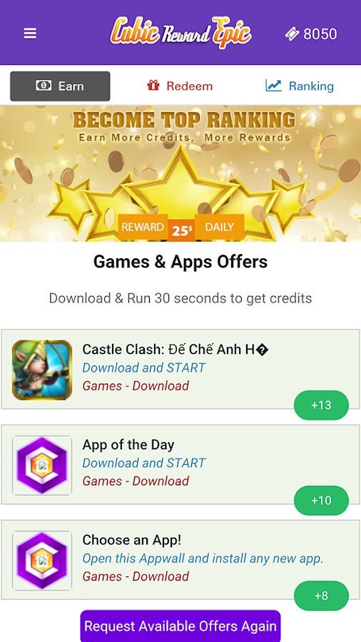 Cubic Reward Epic - Free Gifts Screenshot 0
