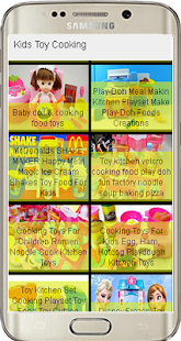 Kids Toy Cooking - screenshot